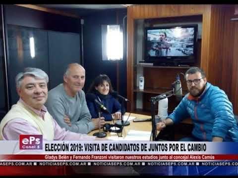 ELECCIÓN 2019 VISITA DE CANDIDATOS DE JUNTOS POR EL CAMBIO