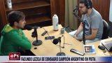 FACUNDO LEZICA SE CONSAGRÓ CAMPEÓN ARGENTINO EN PISTA