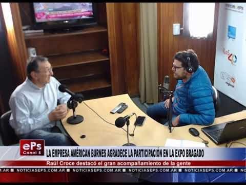 LA EMPRESA AMÉRICAN BURNES AGRADECE LA PARTICIPACIÓN EN LA EXPO BRAGADO