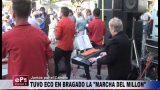 TUVO ECO EN BRAGADO LA MARCHA DEL MILLON