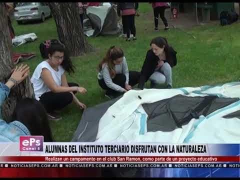 ALUMNAS DEL INSTITUTO TERCIARIO DISFRUTAN CON LA NATURALEZA