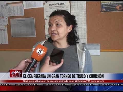 EL CEA PREPARA UN GRAN TORNEO DE TRUCO Y CHINCHÓN