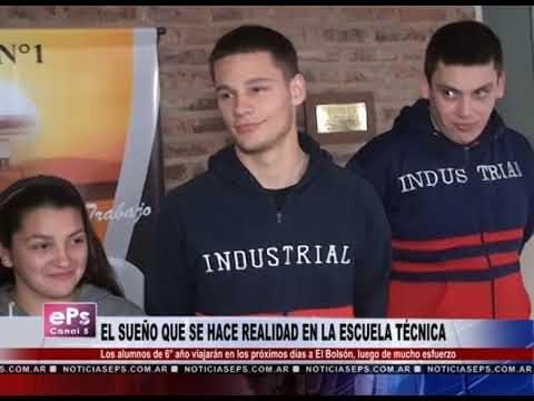 EL SUEÑO QUE SE HACE REALIDAD EN LA ESCUELA TÉCNICA