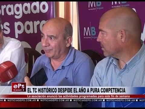EL TC HISTÓRICO DESPIDE EL AÑO A PURA COMPETENCIA