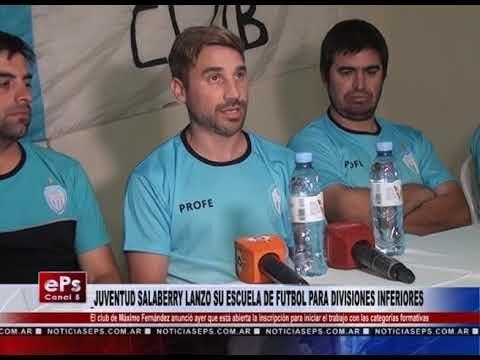 JUVENTUD SALABERRY LANZO SU ESCUELA DE FUTBOL PARA DIVISIONES INFERIORES