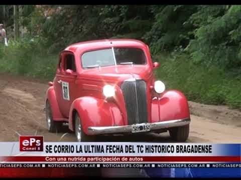 SE CORRIO LA ULTIMA FECHA DEL TC HISTORICO BRAGADENSE