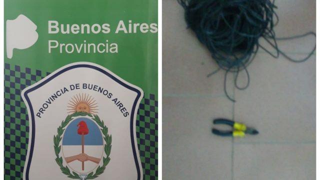 FUE APRHENDIDO POR INTENTAR ROBAR CABLES DE LOS TALLERES DE TMH