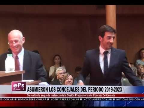 ASUMIERON LOS CONCEJALES DEL PERIODO 2019 2023