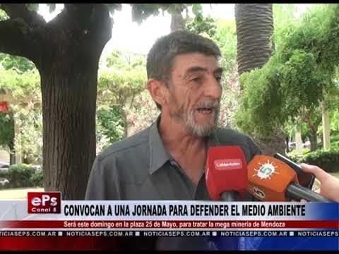 CONVOCAN A UNA JORNADA PARA DEFENDER EL MEDIO AMBIENTE