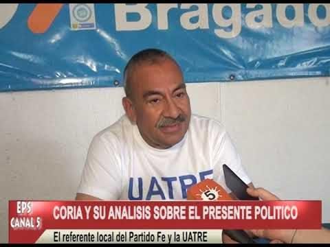 CORIA Y SU ANALISIS SOBRE EL PRESENTE DE LA POLITICA