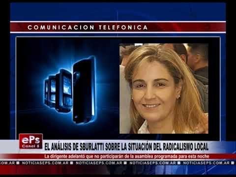 EL ANÁLISIS DE SBURLATTI SOBRE LA SITUACIÓN DEL RADICALISMO LOCAL