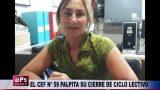 EL CEF N° 59 PALPITA SU CIERRE DE CICLO LECTIVO