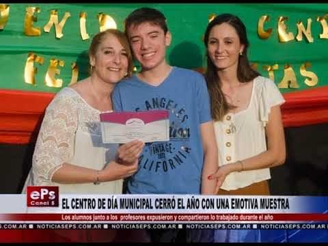 EL CENTRO DE DÍA MUNICIPAL CERRÓ EL AÑO CON UNA EMOTIVA MUESTRA
