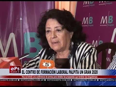 EL CENTRO DE FORMACIÓN LABORAL PALPITA UN GRAN 2020
