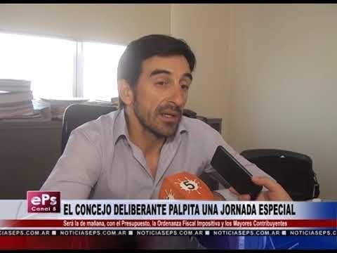 EL CONCEJO DELIBERANTE PALPITA UNA JORNADA ESPECIAL