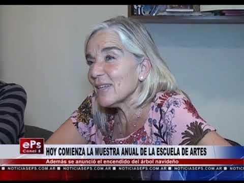 HOY COMIENZA LA MUESTRA ANUAL DE LA ESCUELA DE ARTES