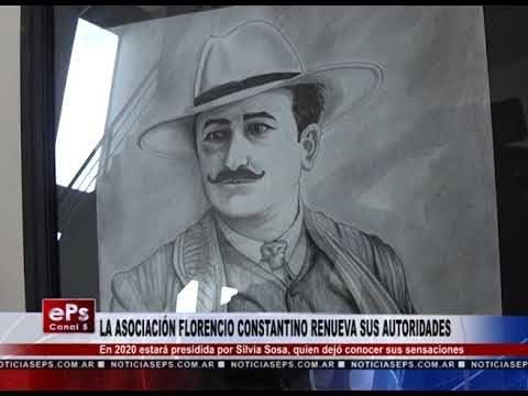 LA ASOCIACIÓN FLORENCIO CONSTANTINO RENUEVA SUS AUTORIDADES