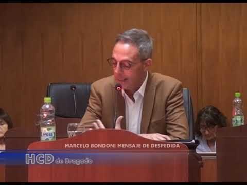 MARCELO BONDONI MENSAJE DE DESPEDIDA