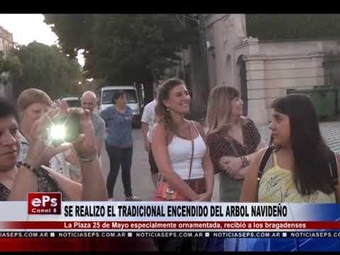 SE REALIZO EL TRADICIONAL ENCENDIDO DEL ARBOL NAVIDEÑO