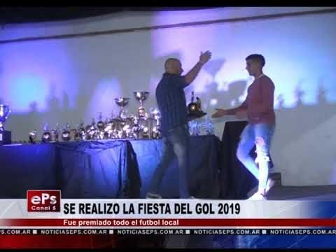 SE REALIZO LA FIESTA DEL GOL 2019
