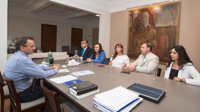 CONCEJALES DEL FRENTE DE TODOS FUERON RECIBIDOS POR EL MINISTRO DE INFRAESTRUCTURA