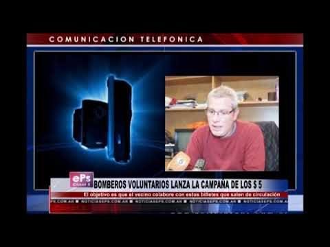BOMBEROS VOLUNTARIOS LANZA LA CAMPAÑA DE LOS $ 5
