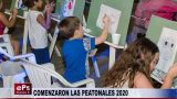 COMENZARON LAS PEATONALES 2020