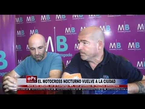 EL MOTOCROSS NOCTURNO VUELVE A LA CIUDAD