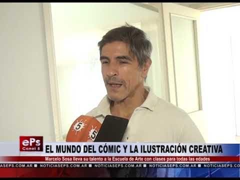 EL MUNDO DEL CÓMIC Y LA ILUSTRACIÓN CREATIVA