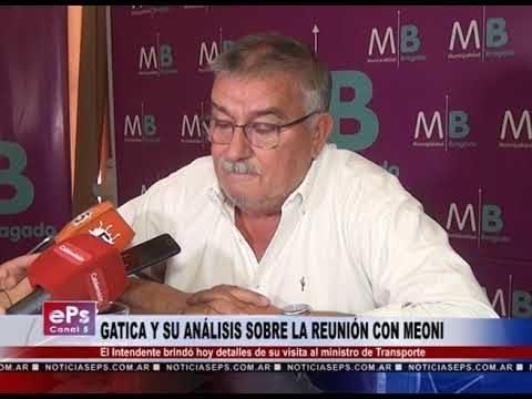 GATICA Y SU ANÁLISIS SOBRE LA REUNIÓN CON MEONI