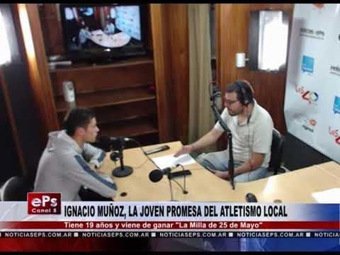 IGNACIO MUÑOZ, LA JOVEN PROMESA DEL ATLETISMO LOCAL