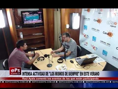INTENSA ACTIVIDAD DE LOS MISMOS DE SIEMPRE EN ESTE VERANO