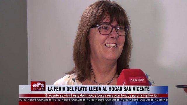 LA FERIA DEL PLATO LLEGA AL HOGAR SAN VICENTE