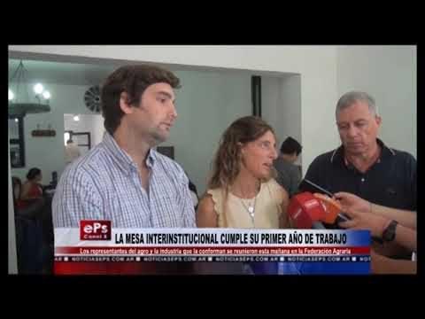 LA MESA INTERINSTITUCIONAL CUMPLE SU PRIMER AÑO DE TRABAJO