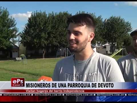 MISIONEROS DE UNA PARROQUIA DE DEVOTO