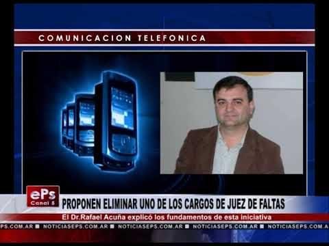 PROPONEN ELIMINAR UNO DE LOS CARGOS DE JUEZ DE FALTAS