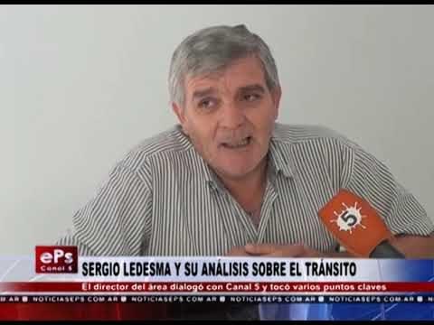 SERGIO LEDESMA Y SU ANÁLISIS SOBRE EL TRÁNSITO