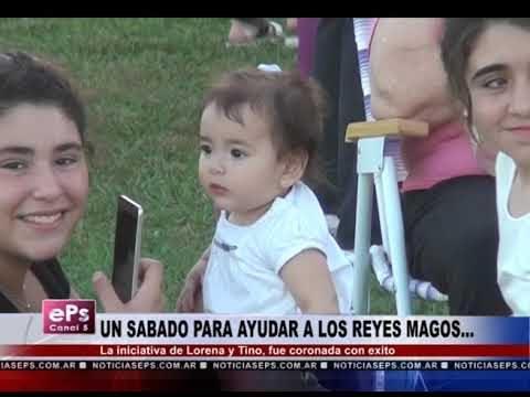 UN SABADO PARA AYUDAR A LOS REYES MAGOS