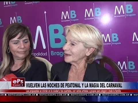 VUELVEN LAS NOCHES DE PEATONAL Y LA MAGIA DEL CARNAVAL