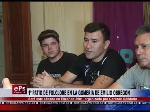 1º PATIO DE FOLCLORE EN LA GOMERIA DE EMILIO OBREGON