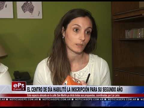 EL CENTRO DE DÍA HABILITÓ LA INSCRIPCIÓN PARA SU SEGUNDO AÑO