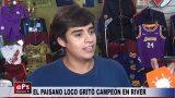 EL PAISANO LOCO GRITÓ CAMPEÓN EN RIVER