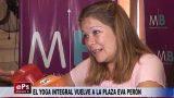 EL YOGA INTEGRAL VUELVE A LA PLAZA EVA PERÓN