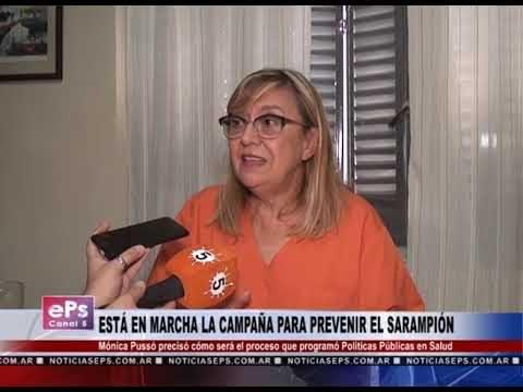 ESTÁ EN MARCHA LA CAMPAÑA PARA PREVENIR EL SARAMPIÓN
