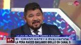 LA PEÑA RAÍCES BAILANDO BRILLÓ EN CANAL 9