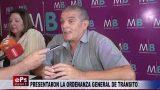 PRESENTARON LA ORDENANZA GENERAL DE TRÁNSITO