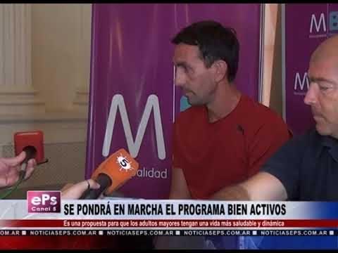 SE PONDRÁ EN MARCHA EL PROGRAMA BIEN ACTIVOS
