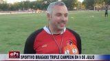 SPORTIVO BRAGADO TRIPLE CAMPEON EN 9 DE JULIO