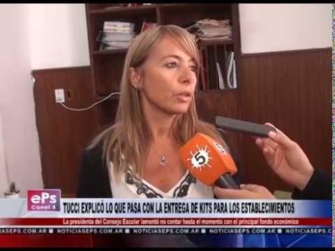 TUCCI EXPLICÓ LO QUE PASA CON LA ENTREGA DE KITS PARA LOS ESTABLECIMIENTOS