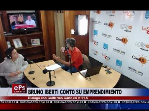 BRUNO IBERTI CONTO SU EMPRENDIMIENTO